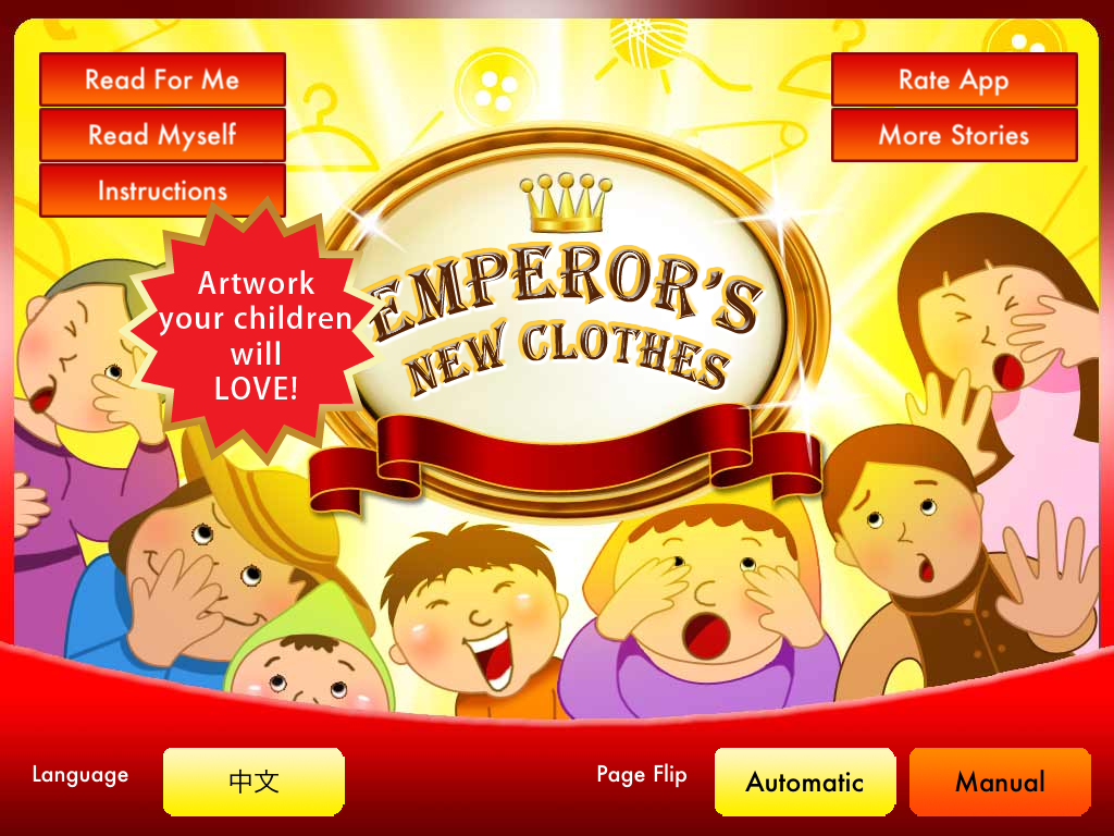 The Emperors New Clothes Storybook Hd Smash Atom Software Llc Emperor